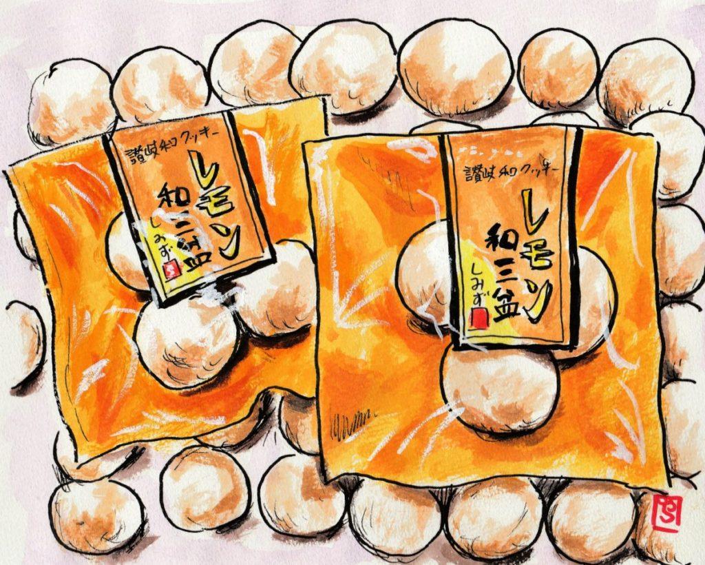 160609 レモン和三盆クッキー@清水菓子舗