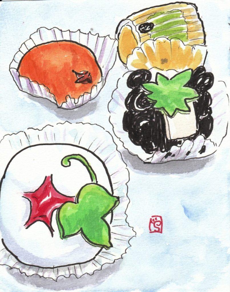 090802 夏の上生菓子